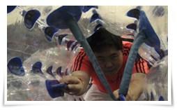Photo of Fútbol dentro de una burbuja
