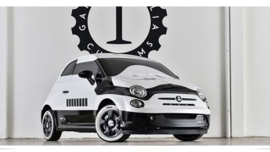 Photo of Presentan FIAT 500E stormtrooper que celebra a Star Wars