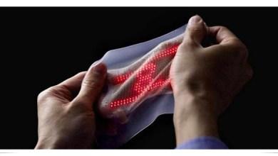 Photo of Pantalla en forma de piel envía datos sobre la salud a la Nube