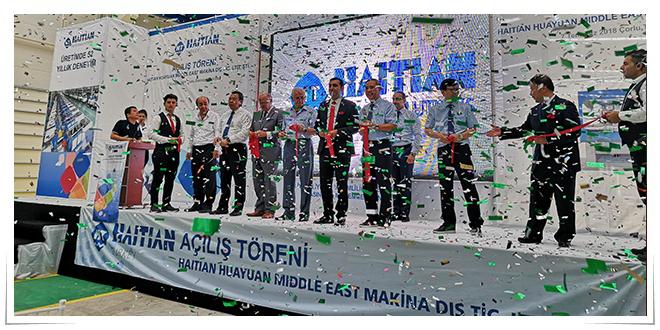 Photo of Gran inauguración de la nueva planta de Haitian en Turquía