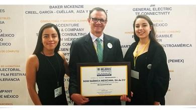 Photo of Dow recibe el reconocimiento Equidad MX por segundo año consecutivo