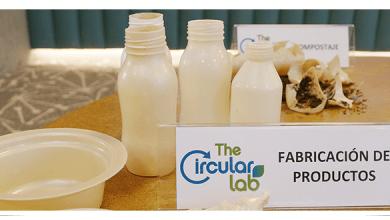 Photo of TheCircularLab lanza plástico biodegradable