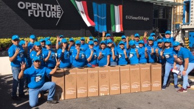 Photo of Acopian voluntarios de Smurfit Kappa México 50 mil botellas de 600 ml
