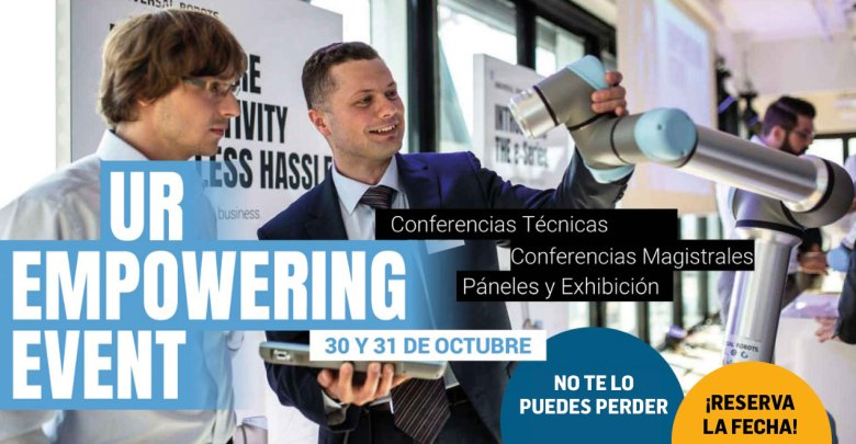 "Photo of Universal Robots presenta ""UR Empowering Event 2019"""