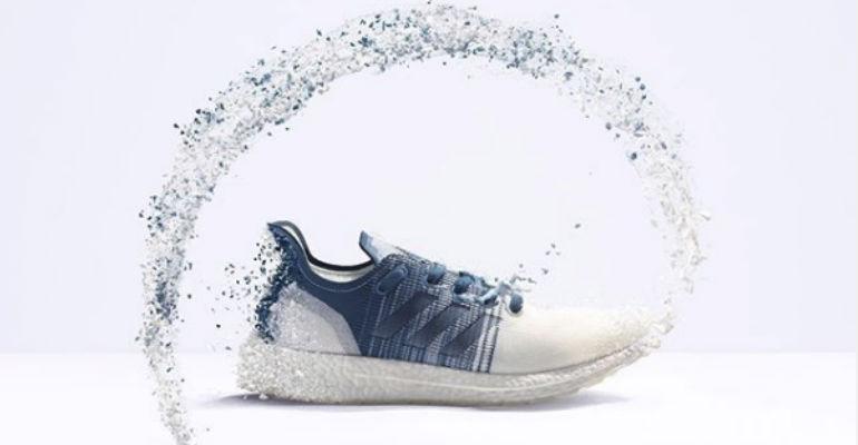 adidas recicla plástico