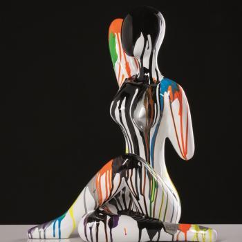 "44C020 - Scultura ""Pop girl"""
