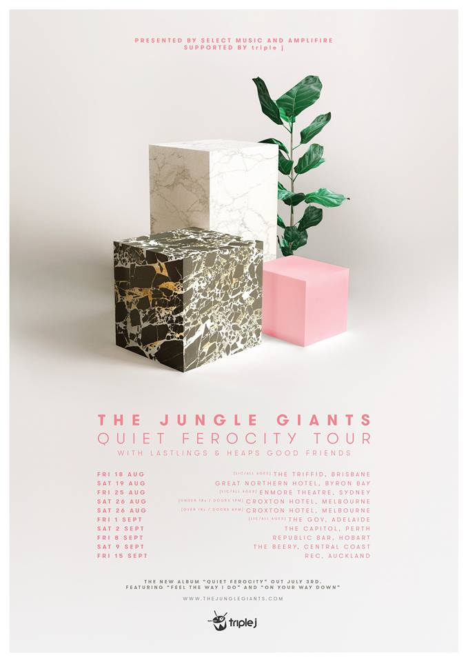The Jungle Giants Tour Poster
