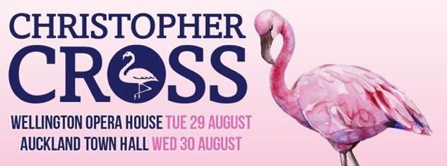 Christopher Cross NZ Tour Banner