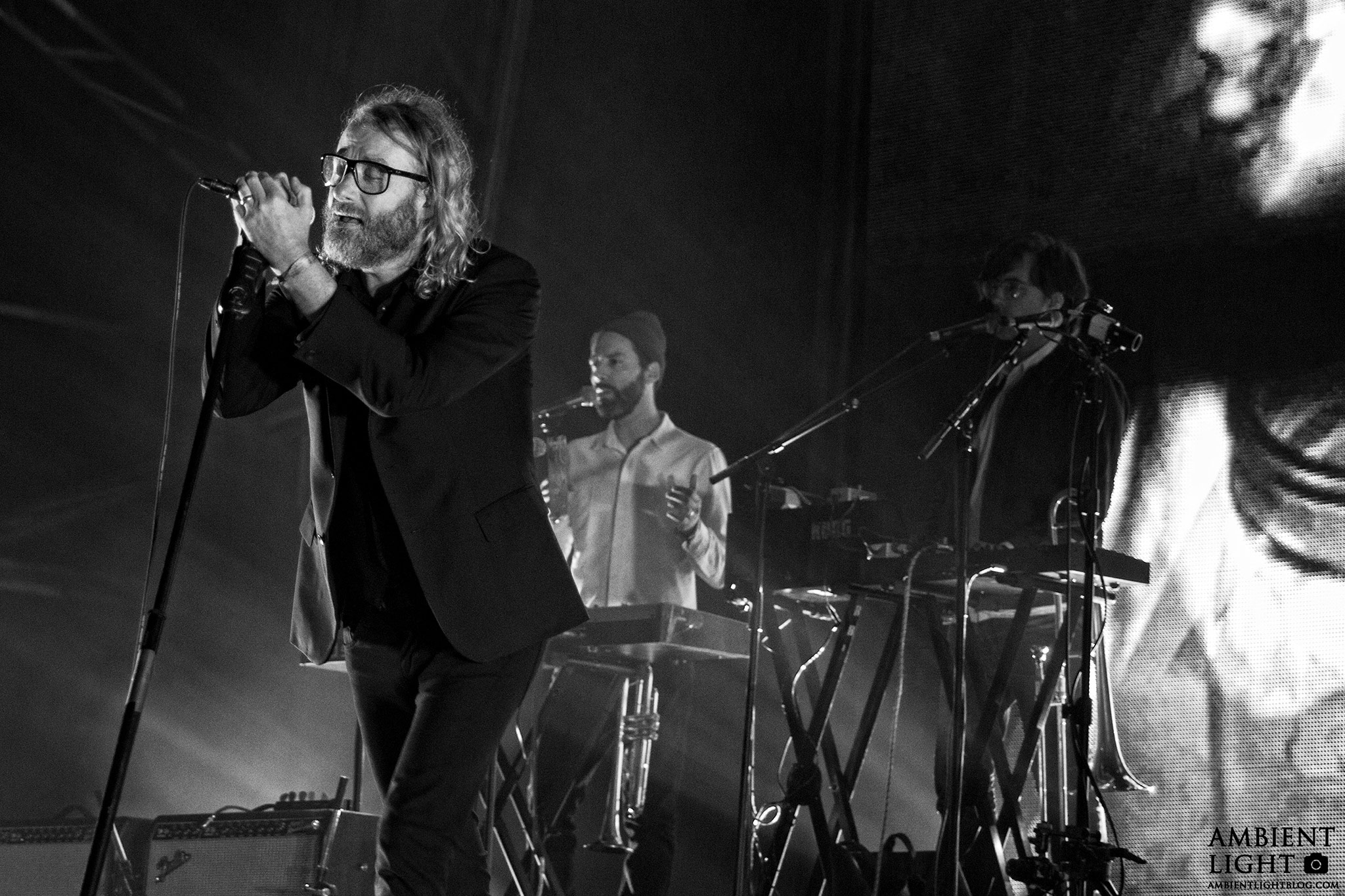 The National performing live at Auckland City Limits. Image by Doug Peters.