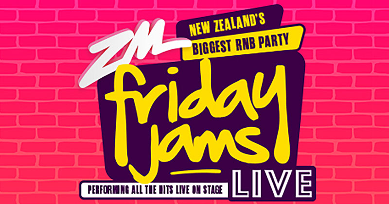 Illusive Presents Frontier Touring And ZM Are Proud To Present For The First Time Ever In New Zealand A Brand RNB Party Colossal FRIDAY JAMS