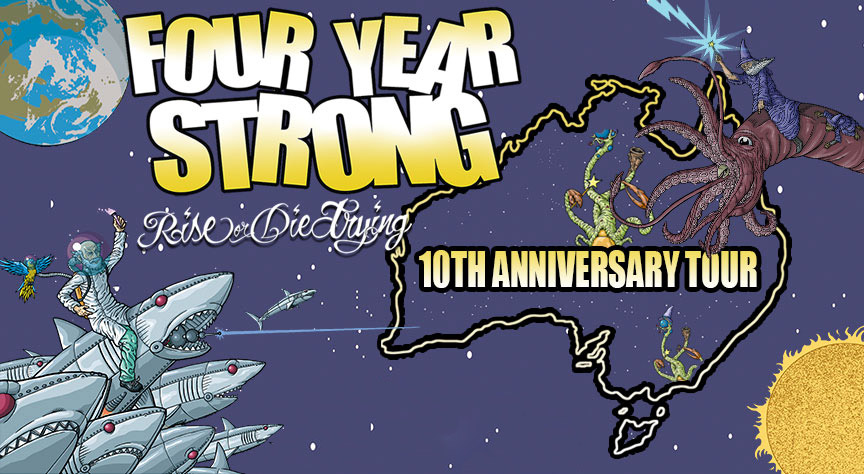 Four Year Strong Tour Banner