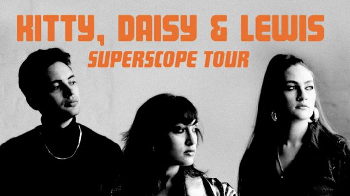 Kitty, Daisy & Lewis Tour Banner