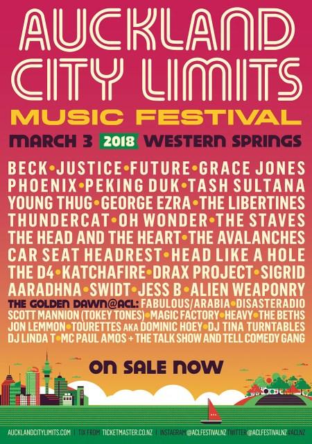 Auckland City Limits 2018