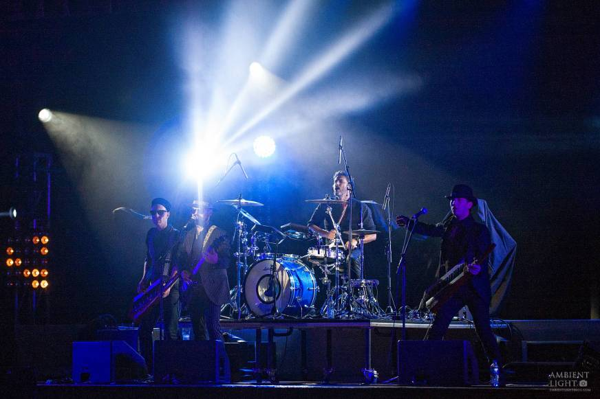 Pseudo Echo perform live in Auckland, New Zealand, 2017. Image by Doug Peters.