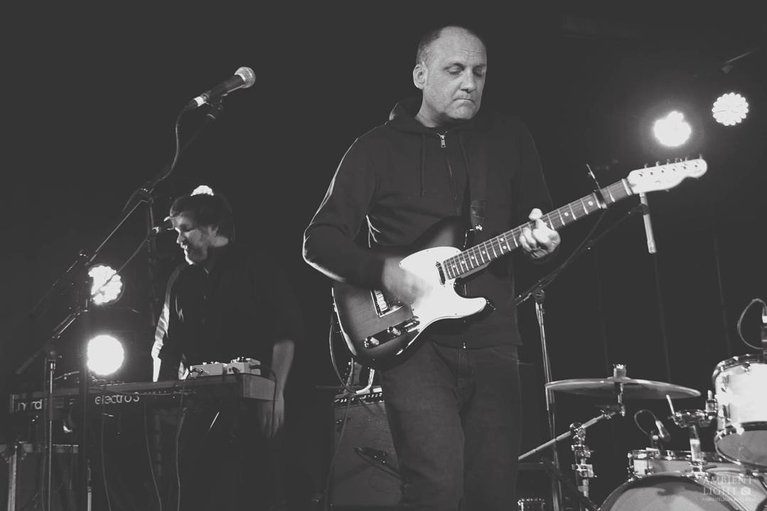Spiral Stairs performing live in Auckland, New Zealand 2017. Image by Sarah Kidd.