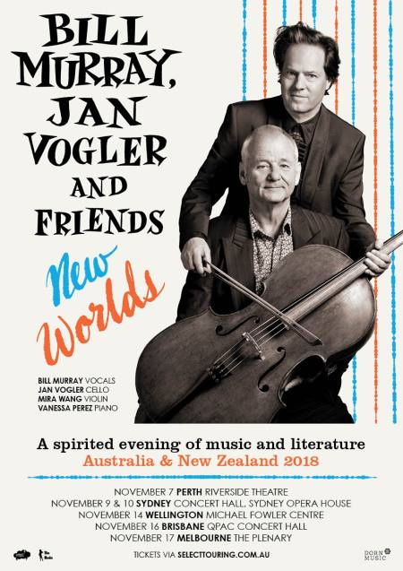Bill Murray & Jan Vogler - New worlds