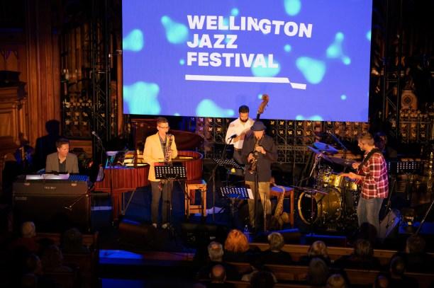 Wellington Jazz Festival 2020 - Kevin Field Quintet, St. Peter's On Willis, Wellington, NZ. 19 November 2020. Please credit photo: Stephen A'Court.