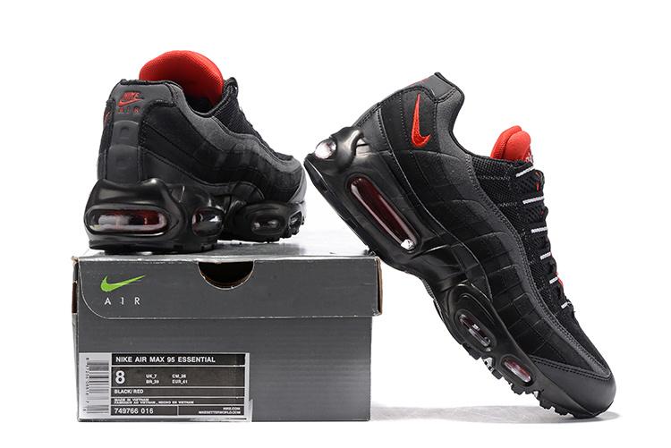 air max 95 homme noir et rouge nike air max 95 chaussure nike pas cher homme