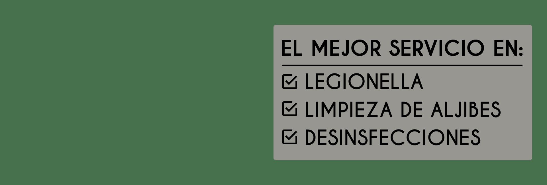 control de legionella en málaga