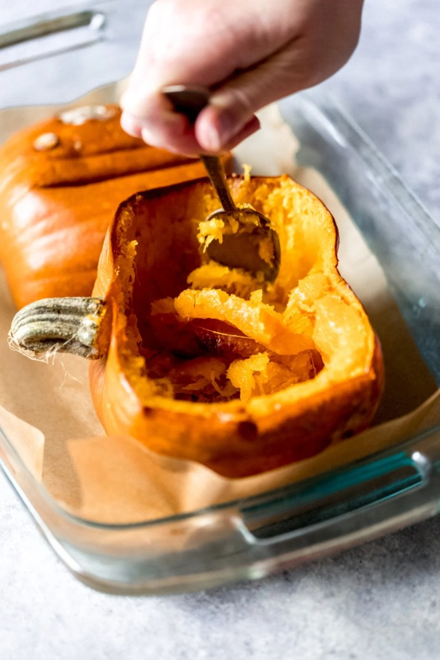 How to Cook a Pumpkin + Make Homemade Pumpkin Puree