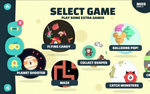Games Selection