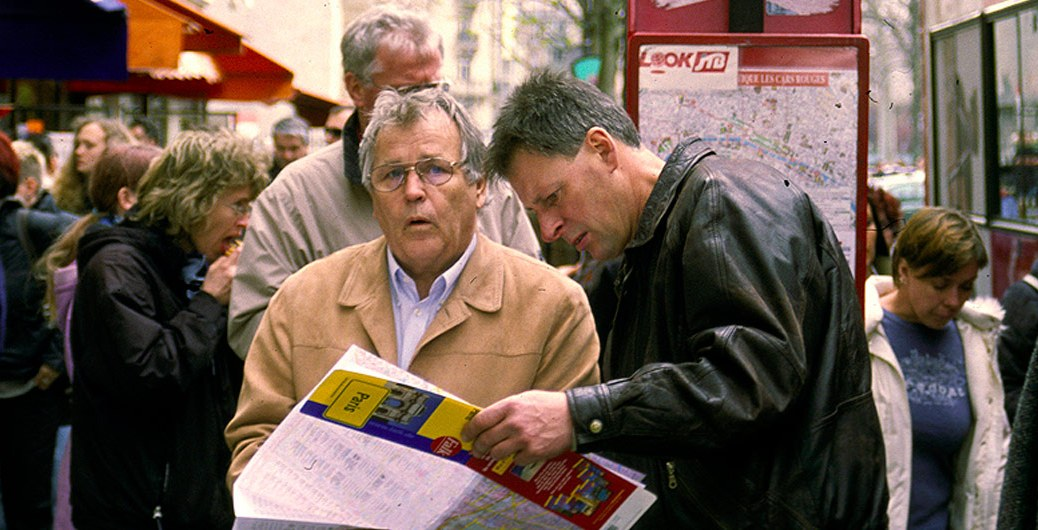 Men with Maps