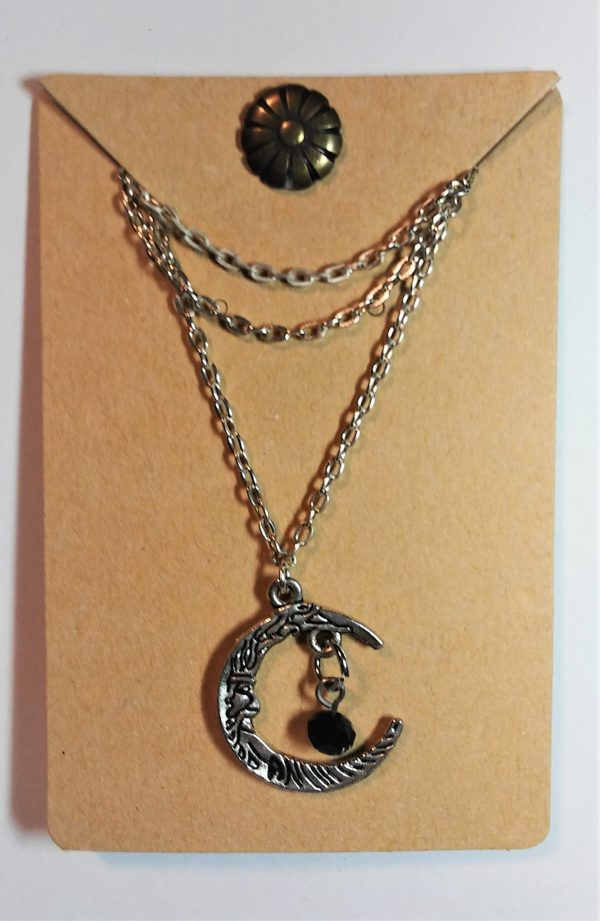 Man in the Moon Necklace