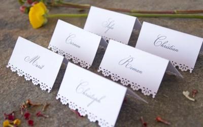 Wer kommt zur Hochzeit? – Gästeliste erstellen