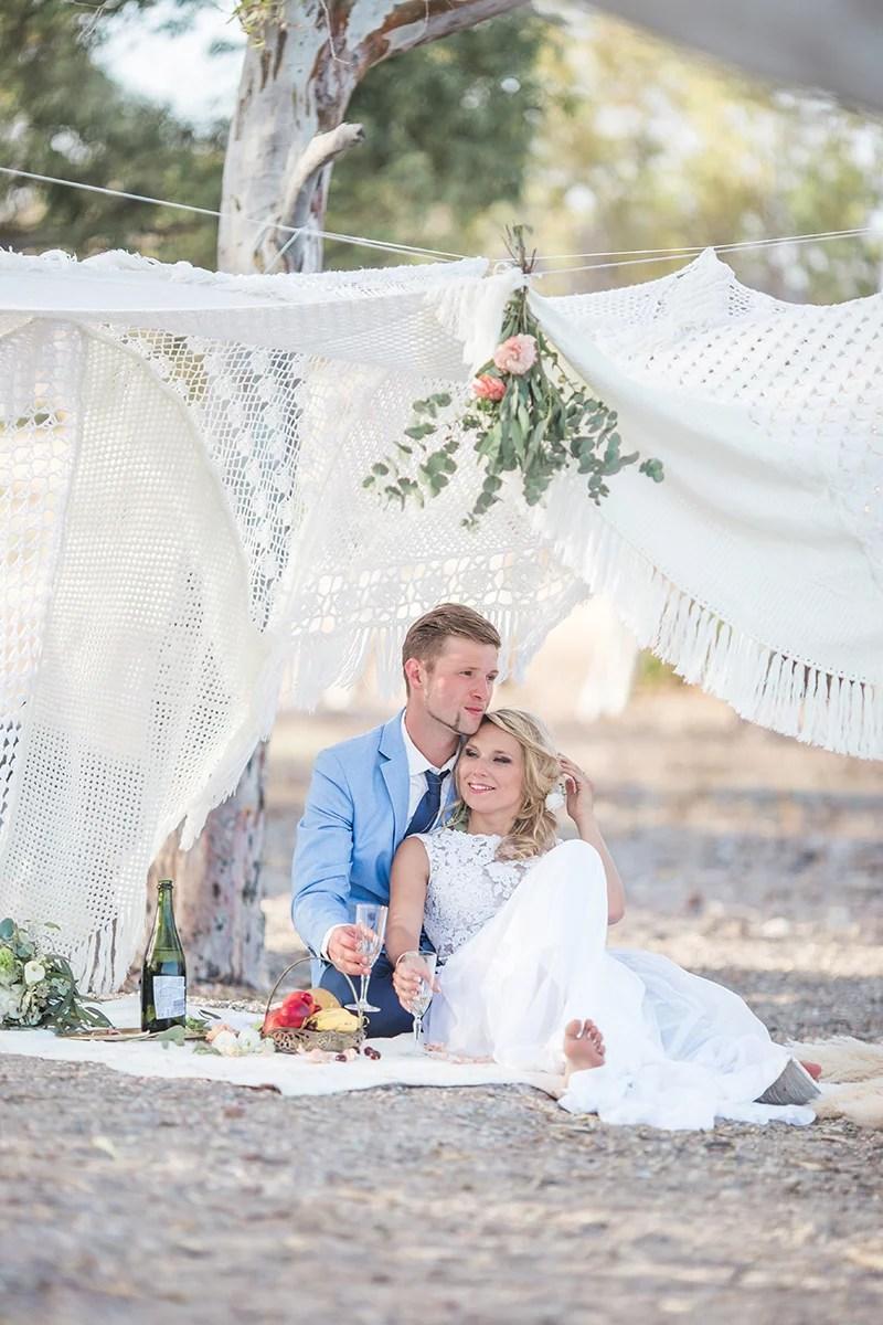 Hochzeit zur zweit in Spanien