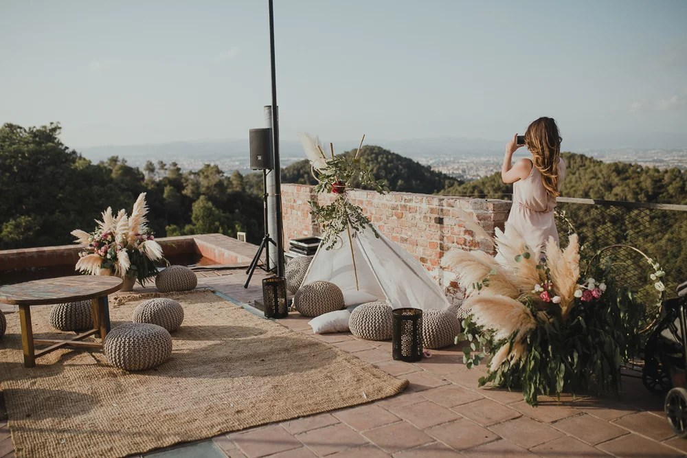 Festival boho Hochzeit, Boho Wedding Chillout Lounge