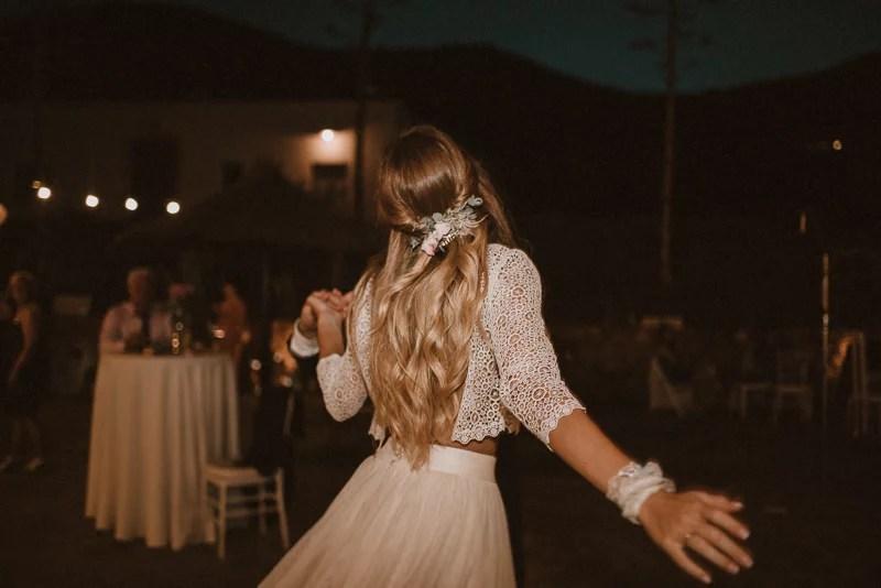 Boho Hochzeit in Spanien