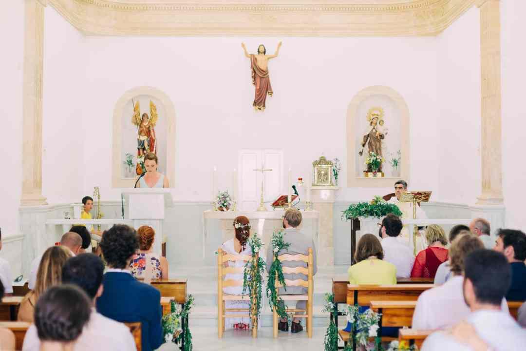 Kirchliche Trauung in Spanien