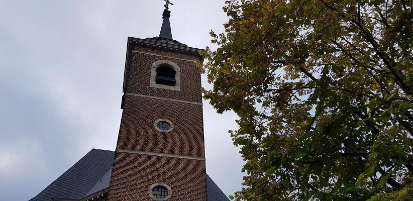 Kerk in Maastricht op een wandeling over het Maaspad van Maastricht naar Berg aan de Maas