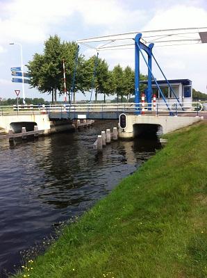 Brug Wittelte op wandeling over Drenthepad van Uffelte naar Wittelte