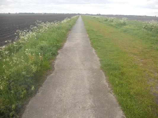 Wandelen over het Groot Frieslandpad langs Annerveensche Mond