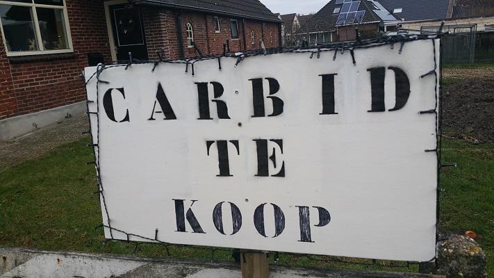 Wandelen over het Groot Frieslandpad 'Carbid te Koop'