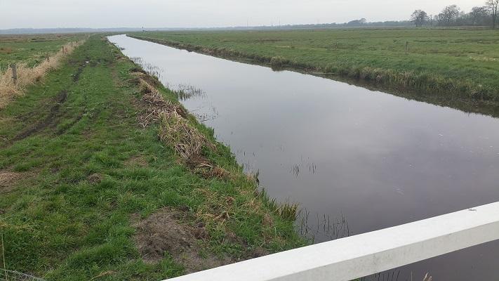 Wandelen over het Groot Frieslandpad langs het Groot Diep
