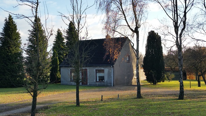 Woonhuis tijdens een wandeling in het spoor van Van Gogh in Nuenen