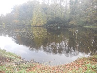 Ommerschans op een wandeling over het Maarten van Rossumpad van Steenwijk naar Rogat