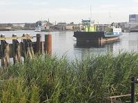 Velsen tijdens een wandeling over het Nederlands Kustpad van Santpoort naar Castricum