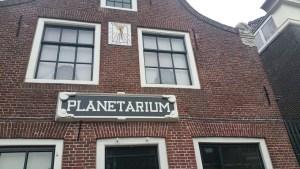 Planatarium Franeker op een wandeling over het Nederlands Kustpad van Franeker naar Harlingen