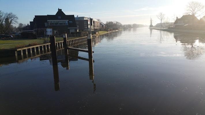 Hanzer Trekfaert Franeker op een wandeling over het Nederlands Kustpad van Franeker naar Sint Jacobiparochie