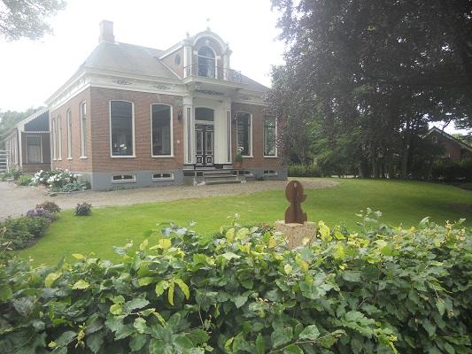 Oldambster boerderij Bad Nieuweschans op een dagwandeling over het Nederlands Kustpad