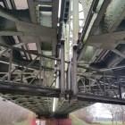 Wandelen over het Peelpad bij brug over kanaal Wessem-Nederweert