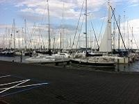 Haven Lelystad op een wandeling over het Pionierspad van Lelystad naar Knarbos