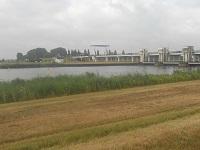 Nijkerkersluis op een wandeling over het Pionierspad van Lelystad naar Trekkersveld