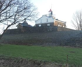 Oud Kraggenburg op een wandeling rondje Kraggenburg over het Pionierspad