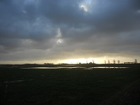 Kraggenburg op een wandeling over het Pionierspad van Schokkerhaven naar Vollenhoven