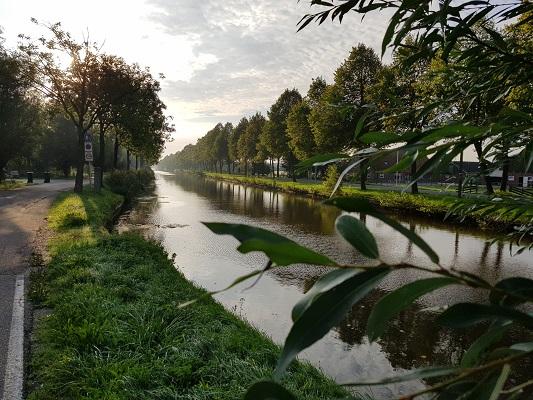 Wandelen over het Romeinse Limespad langs de Oude Rijn bij Harmelen