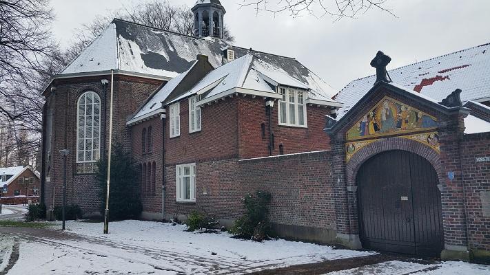 Birgitttinessenklooster tijdens een wandeling langs monumenten in Uden in Noord-Brabant